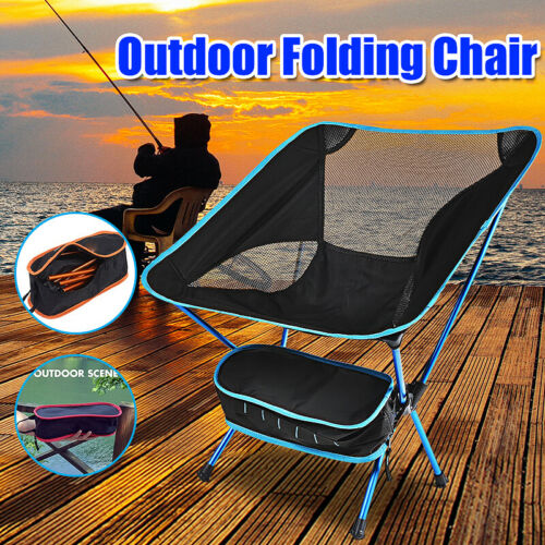 Outdoor Chair Portable Camping Chairs Lightweight Folding Backpacking Chairs