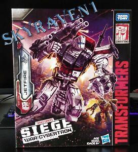 Transformers Siege War for Cybertron JETFIRE (Skyfire) New & Sealed