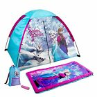 Disney Frozen Themed Kids 4-Piece Fun Camp Kit Featuring Elsa/Anna | D-4SLGFRZ4A