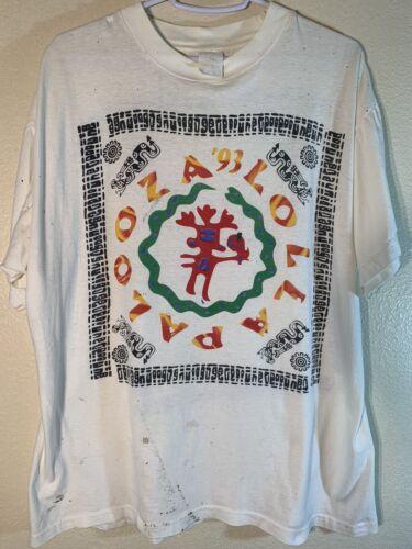 Vintage Men's Medium 1993 Lollapalooza Concert T S