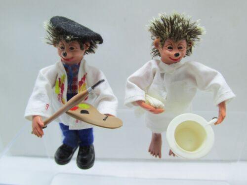 Made in Austria Artist /& Night Trip Mecki-Peter Figurines Set