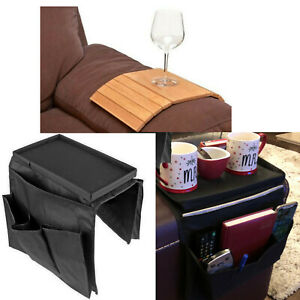Groovy Details About Sofa Arm Rest Organiser Couch Storage Caddy Gadgets Tray 6 Pockets Remote Holder Lamtechconsult Wood Chair Design Ideas Lamtechconsultcom