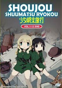 DVD-Anime-Girl-039-s-Last-Tour-Shoujou-Shuumatsu-Ryokou-Series-1-12-English-Sub