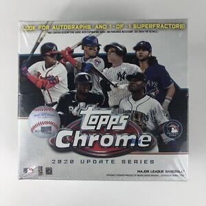 Topps Chrome Blaster Box Factory Sealed Update Series 2020 Baseball