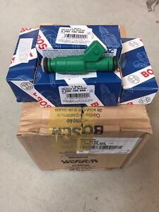Fuel Injectors x 4 440cc 42lb FORD FOCUS ZETEC ST170 BMW E30 E36 E46 Green Giant