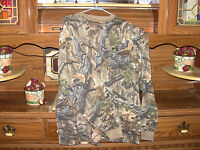 Camouflage Longsleeve Shirt W/ Front Pocket & Rimmed Collar/cuffs - Large & Xl