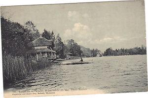 38-cpa-PALADRU-et-les-bords-du-lac