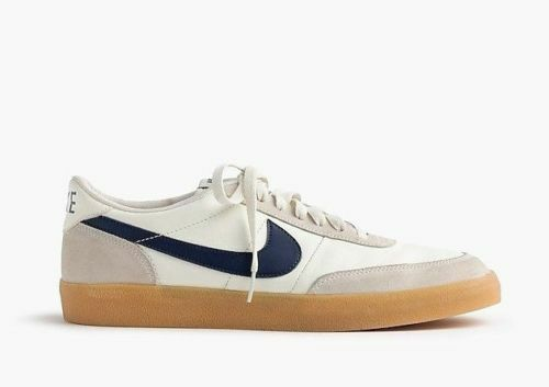 SZ 12 Nike J. Crew Killshot 2 White Sail Navy 432997-107 Leather Air DS