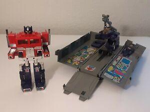 vintage g1 transformers optimus prime 1985 hasbro
