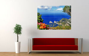 ANACAPRI-CAPRI-ITALY-NEW-GIANT-LARGE-ART-PRINT-POSTER-PICTURE-WALL-33-1-034-x23-4-034