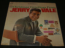 Christmas Greetings From Jerry Vale LP Record Columbia 2 eye 360 IN SHRINK OOP
