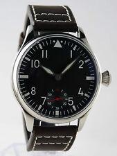 Mechanical B-uhr FLIEGER pilot watch type Unitas 6498 Superluminova BGW9 FRANCE