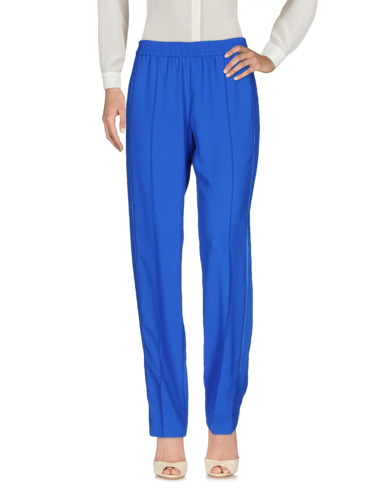500 NWT 36 38 S KENZO Casual trousers Bright bluee women pants suit work