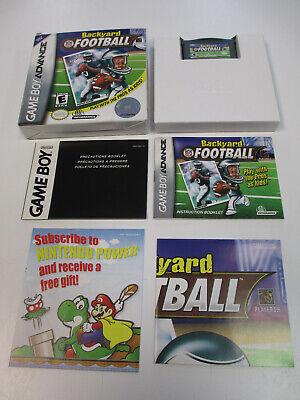 Backyard Football (Nintendo Game Boy Advance, 2002) GBA ...