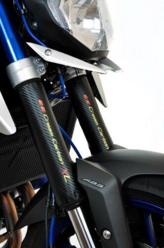 Carbon Fibre Finish Adventure Fork Protectors MV Agusta Brutale 800 Dragster