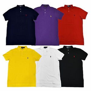Collared L Xl Custom Details M About Mesh Mens Ralph Xs Shirt S Xxl Polo Lauren Top Fit NwO8m0vn