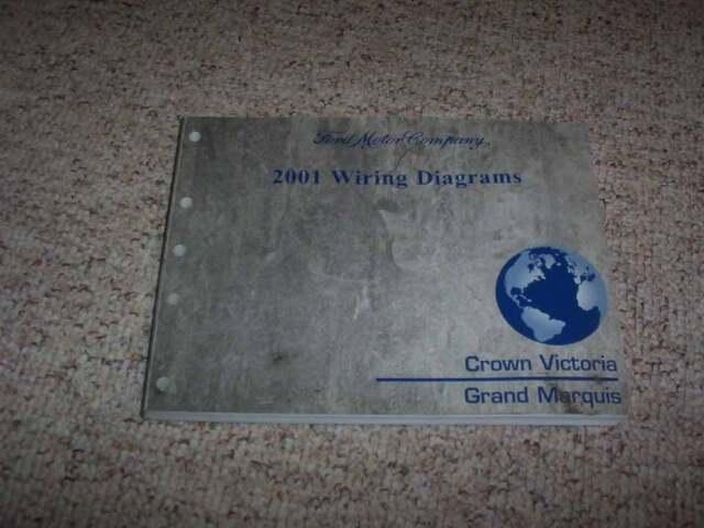 2001 Mercury Grand Maruis Electrical Wiring Diagram Manual Gs Ls 4 6l V8