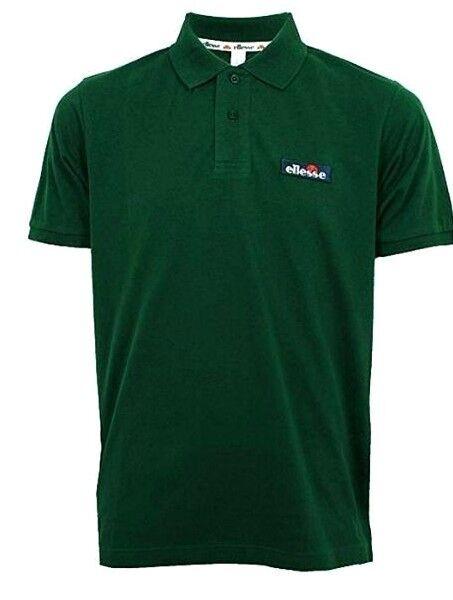 ab23d35646 ellesse Baseliner Men's Polo Shirt / Shirt Stg00548 T-shirt Dark Green L