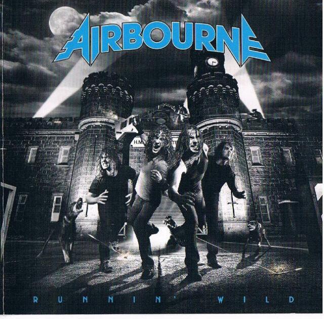 Airbourne - Runnin' Wild - Original CD + DVD 2008 - 016861 796389 - TOP - RARE