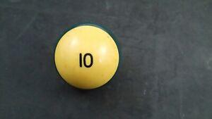 Used Regular Size Pool Ball #10