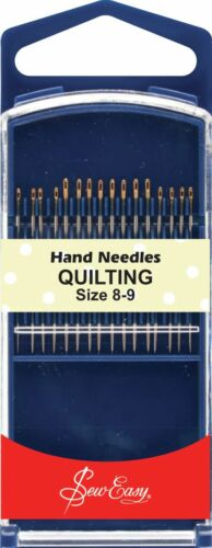 Sew Easy Gold Eye Hand Needles Quilting Size 8-9