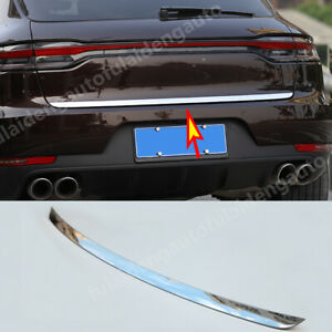 For-Porsche-Macan-2014-19-Stainless-Rear-Trunk-Molding-Tail-Gate-Lid-Cover-Trim
