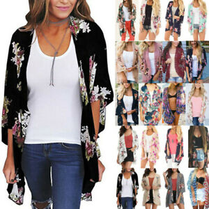 Womens-Holiday-Floral-Boho-Long-Kimono-Cardigan-Summer-Casual-Jacket-Coat-Tops