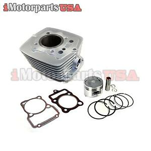 Cylinder Piston Rebuild Kit Honda Cg175 Cg200 Air Cooled 175 200cc