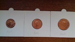 vatican 2007 pièces de 1 2 5 cents  III