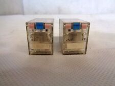 LOT OF 2 OMRON MY2IN RELAY 24 V  COIL