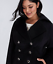 Lane-Bryant-Military-Double-Breasted-Coat-14-16-18-20-22-24-26-28-1x-2x-3x-4x thumbnail 4