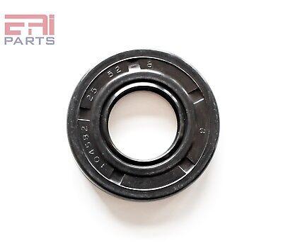 EAI Metric Oil Shaft Seal 15X30X5mm Dust Grease Seal TC Double Lip w// Spring