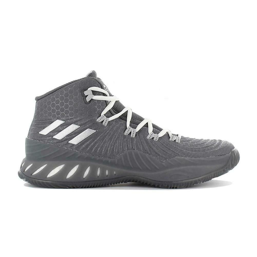 2017 Explosive Crazy Sneakers Athletic Men's Adidas Lace Up