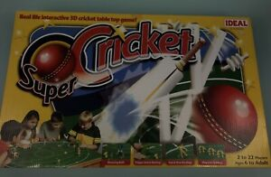 Ideal-Super-Cricket-table-top-game-Trigger-batting-Bouncing-ball-Complete-VGC