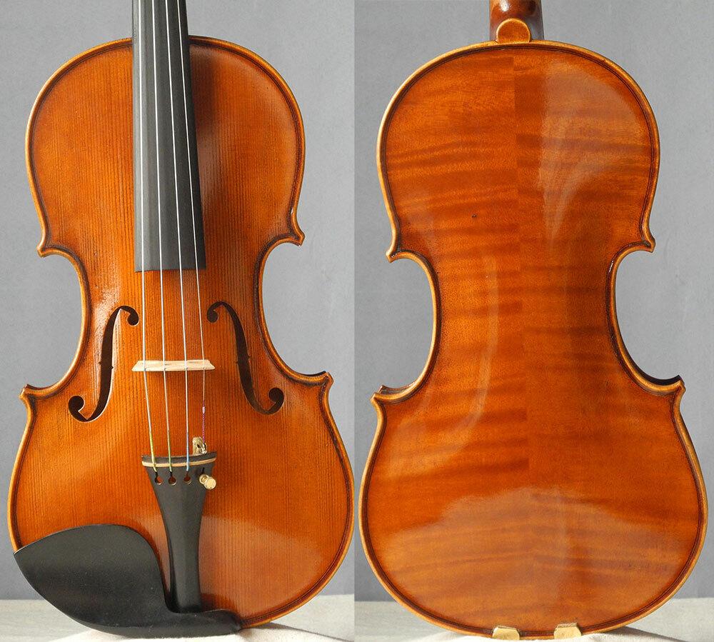 Meister handgefertigte Geige stradivari fiddle 4 4, reifer Tonviolon