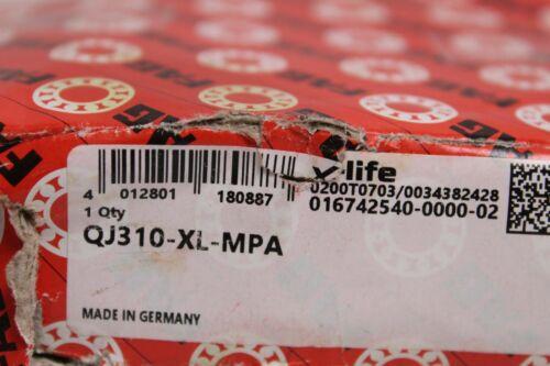 FAG X-Life Vierpunktlager QJ310-XL-MPA Kugellager 110x50x27mm Ball Bearing NEU