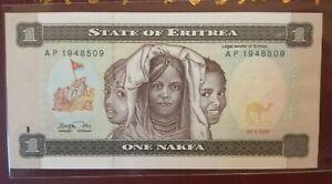 Eritrea 1 Nakfa 1997 (UNC)