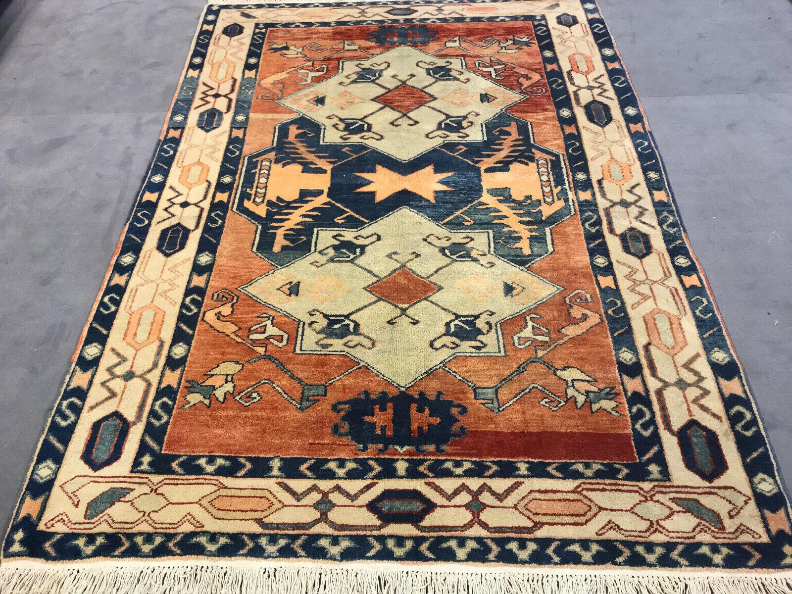 Azerí Kazak Kasak Orient alfombra alfombra 245x178 cm nuevo  top estado