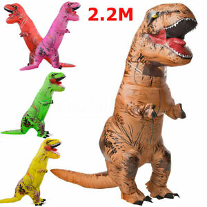 2-2M-Adult-Inflatable-Dinosaur-T-Rex-Jumpsuit-Blow-Up-Costume-Jurassic-Outfit-1