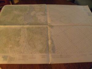 1967 Nautical Combat Chart,south China Sea,vietnam,vinh Cam Ranh Antiques Maritime Navigational Charts