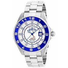 Invicta 17123 Men's Pro Diver White Dial Steel GMT Dive Watch