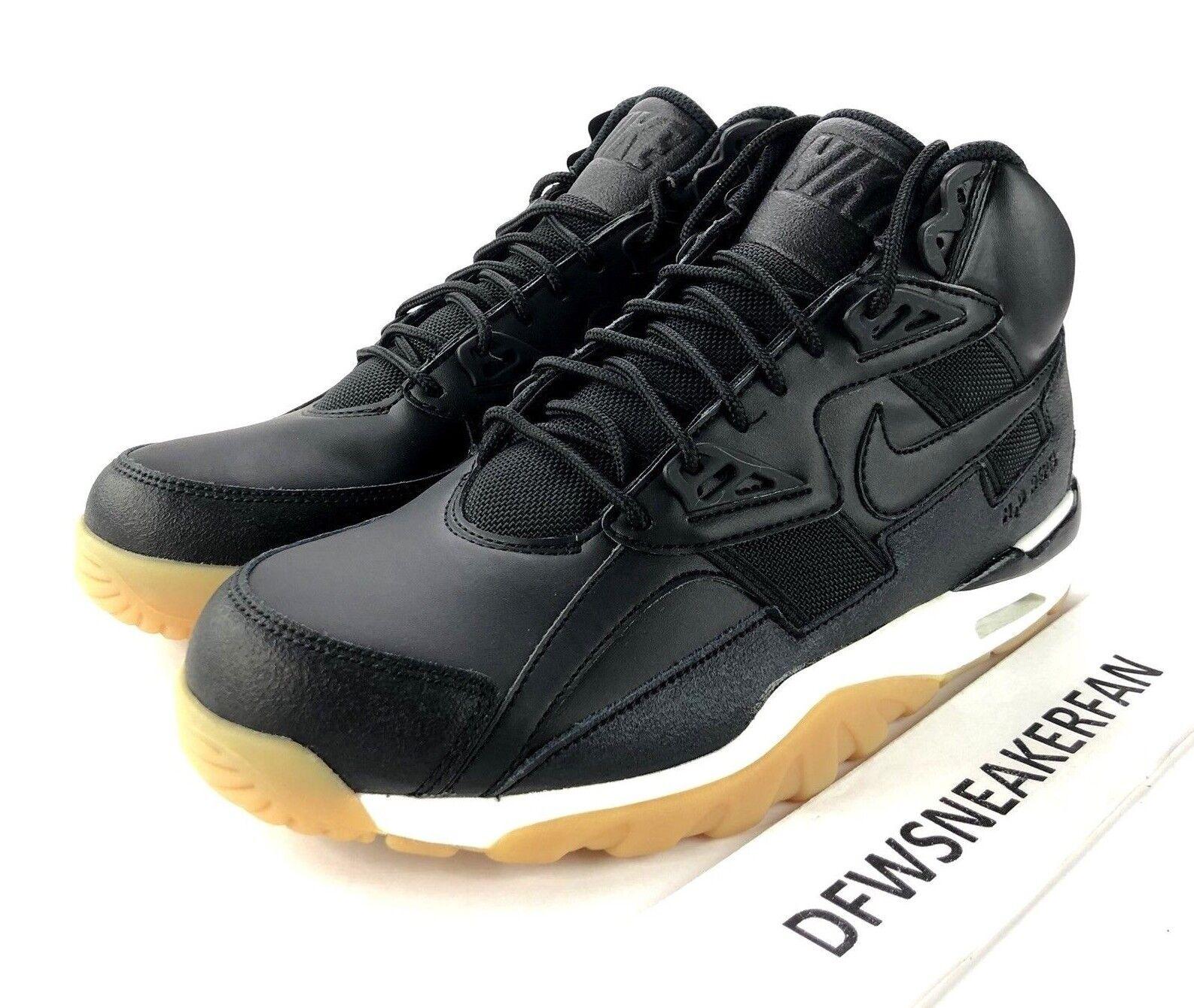 fd26a8f1eb829 ... new arrivals nike air 10 trainer sc mens size 10 air winter shoes black  sail white