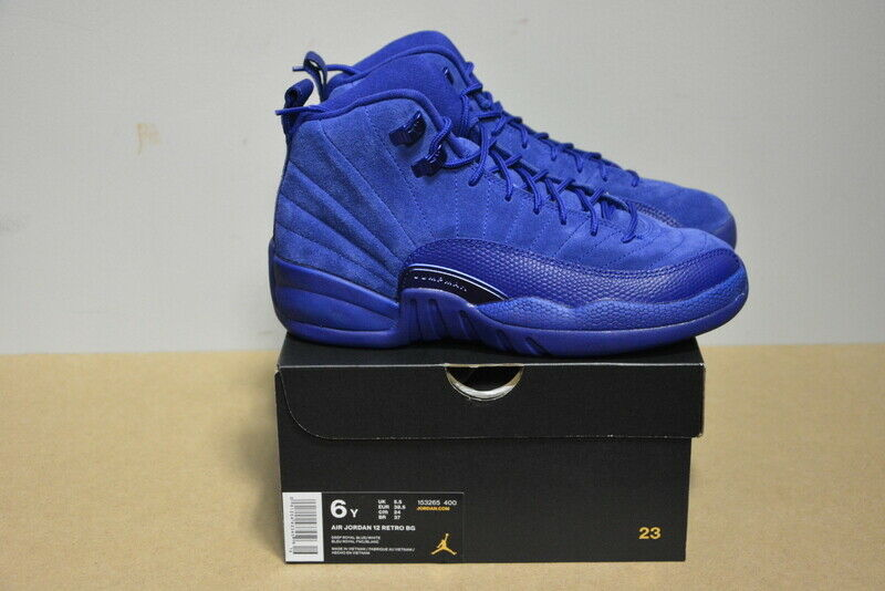 2016 Jordan 12 Retro Profundo Royal Air Azul Ds 130690-400 153265-400