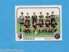 PANINI CALCIATORI 1980/81-Figurina n.341- SQUADRA - CASALE -Rec