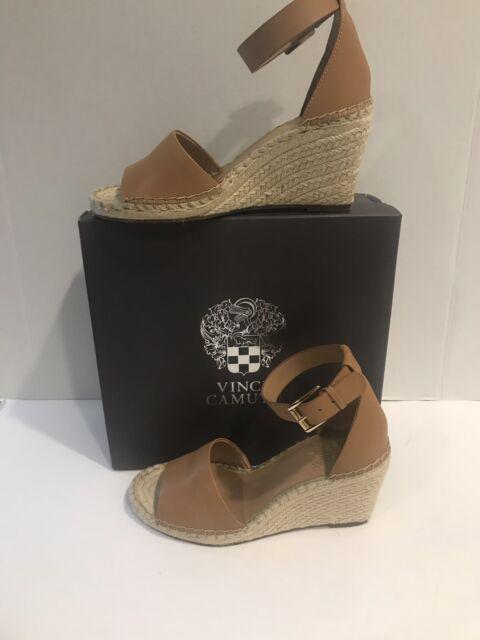 9c767c86021 Vince Camuto Women's Leera Espadrille Wedge Sandal, Dusty Mink, Size 8 M