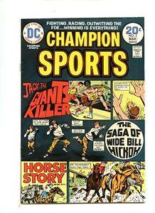 Champion Sports #3 (1974) FN+ 6.5