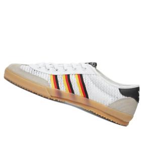 ADIDAS-MENS-Shoes-Tischtennis-White-Red-amp-Black-FV1200