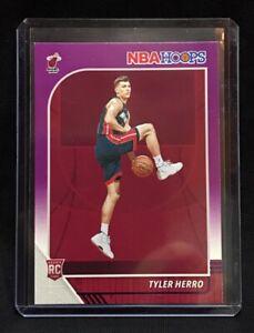 2019-20 Panini NBA Hoops Tyler Herro PURPLE RC #210 Miami Heat