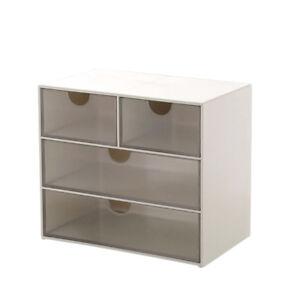 Details About 4 9 Grid Drawer Storage Box Desk Organizer Portable Desktop Office Supplies