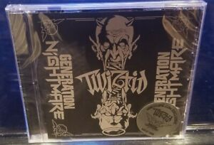 Twiztid - Generarion Nightmare CD SEALED Limited Cover insane clown posse blaze